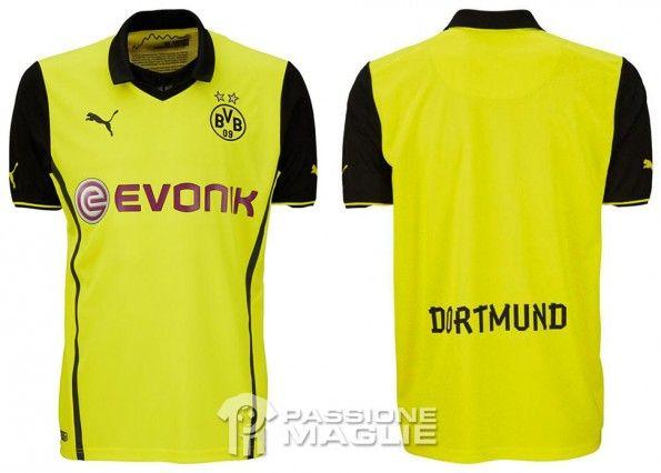 Maglia Borussia Dortmund Champions League 2013-14