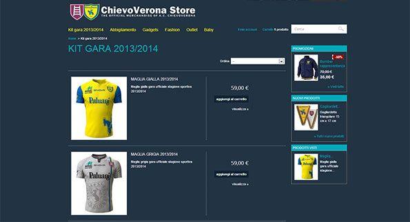 Store online Chievo 2013