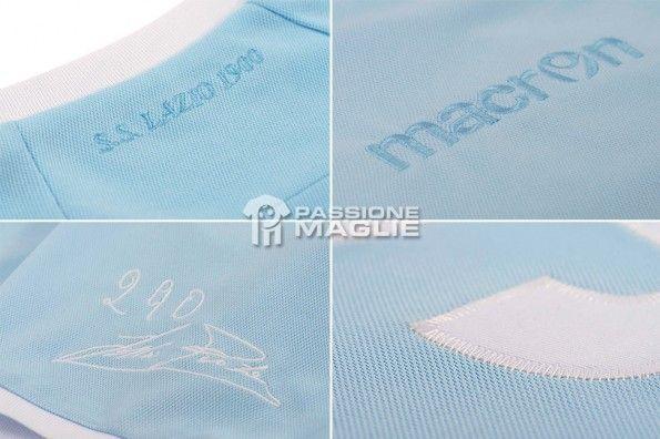 Dettagli maglia Lazio speciale Piola