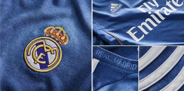 Dettagli kit away Real Madrid 2013-2014