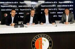 adidas sponsor tecnico Feyenoord