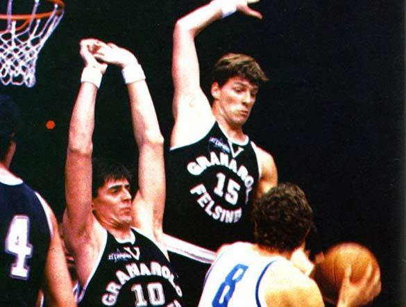 Maglia Granarolo anni '80 basket