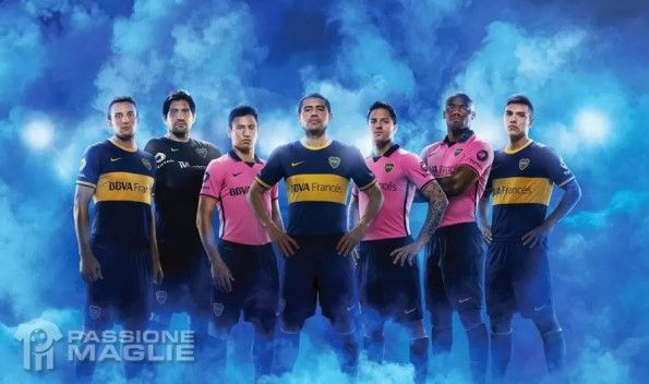 Kit Boca Juniors 2013-2014 Nike