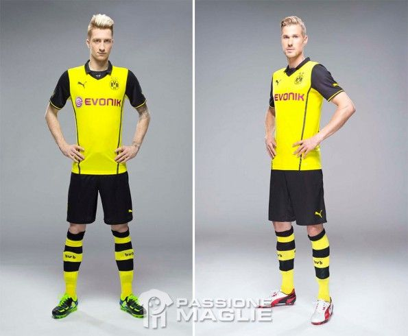 Kit Borussia Dortmund Champions League 2013-2014