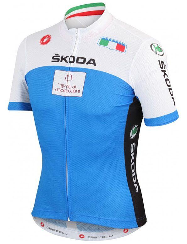 Maglia Italia ciclismo Mondiali 2013 Firenze