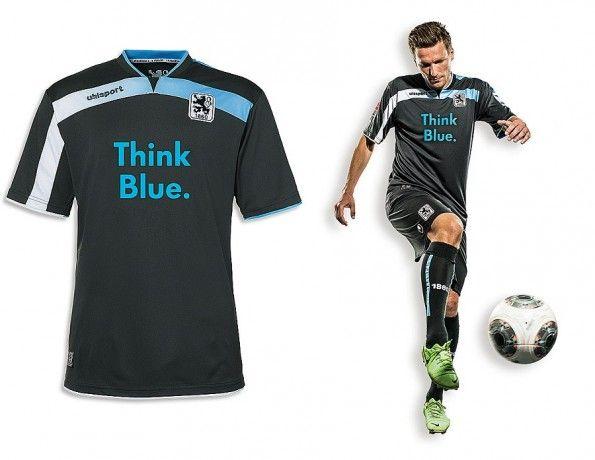 Seconda maglia Monaco 1860 2013-14
