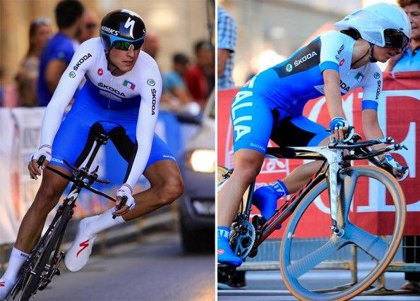 Gli azzurri ai Mondiali di ciclismo 2013