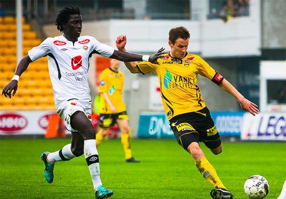Sogndal-Lillestrom campionato norvegese