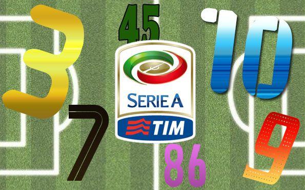 Numeri ufficiali Serie A