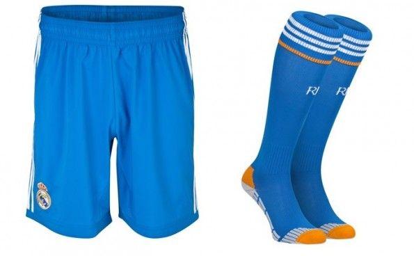 Pantaloncini calzettoni trasferta Real Madrid 2013-2014