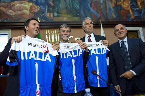 Presentazione maglia Italia Firenze 2013