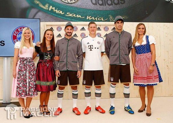 Presentazione kit Bayern Monaco away 2013-14