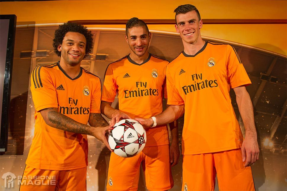 Presentazione terza maglia Real Madrid 2013-14