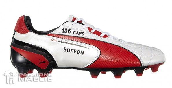 Scarpe Buffon record presenze Italia