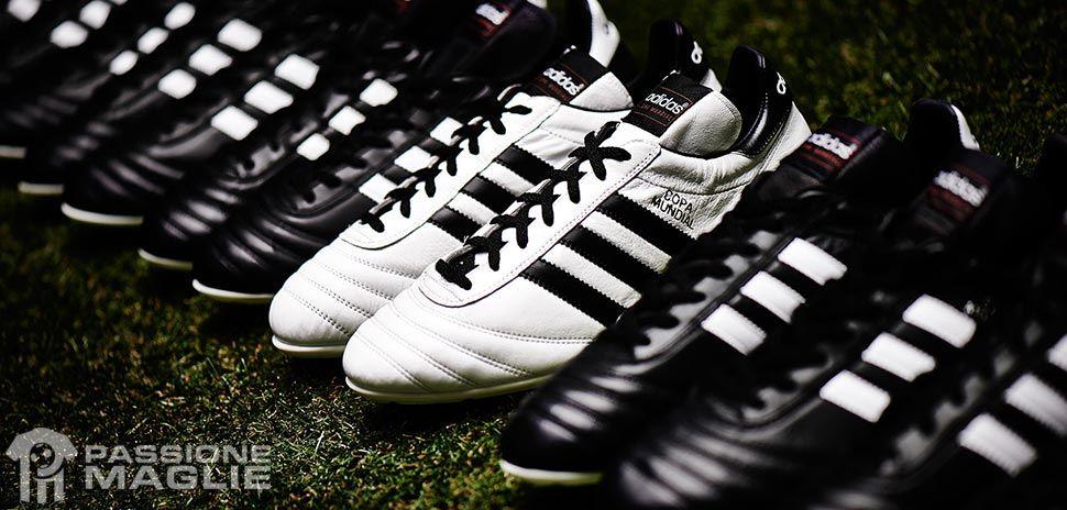 adidas copa mundial calcetto bianche
