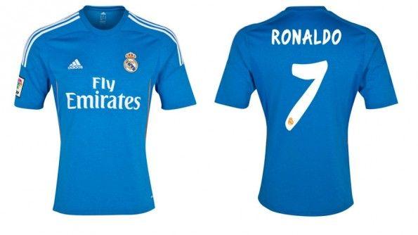 Seconda maglia Real Madrid 2013-2014