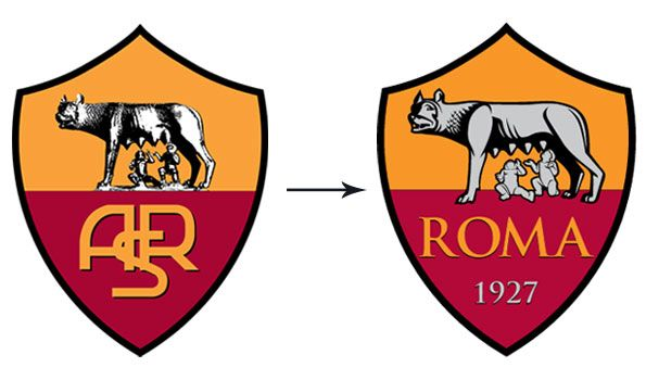 Logo stemma AS Roma