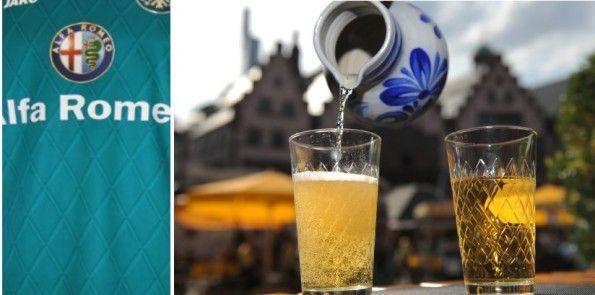I bicchieri da sidro tipici di Francoforte