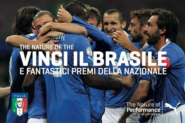 Vinci il Brasile con Puma