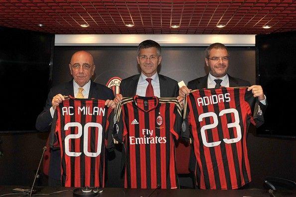 Milan adidas contratto 2023
