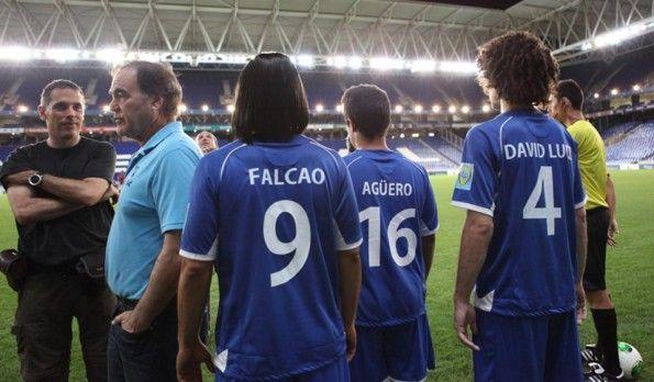 Agüero, Falcao e David Luiz spot DirecTv