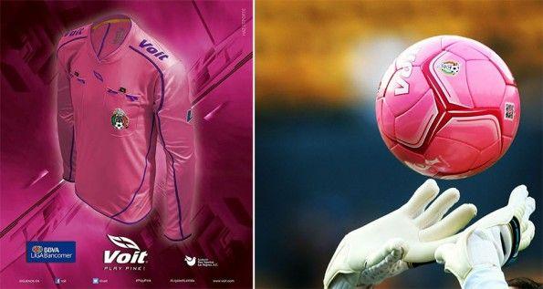 Divisa arbitro e pallone Project Pink Messico