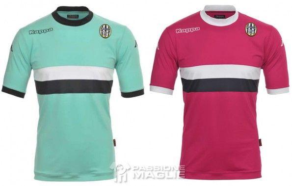 Seconda e terza maglia Siena 2013-2014