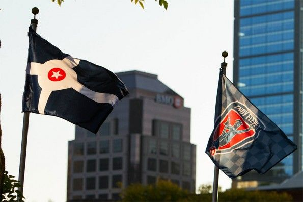 Bandiera Indianapolis e Indy Eleven