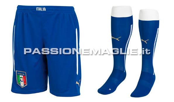 Calzoncini calzettoni Italia Mondiali 2014