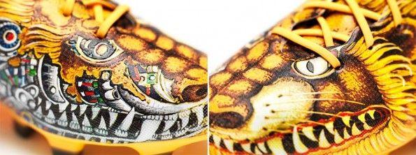 Il cane-leone scarpe F50 adidas