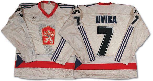 Maglia Cecoslovacchia hockey 1985