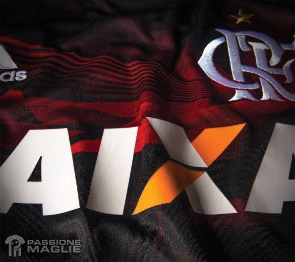 Dettaglio terza divisa Flamengo 2013