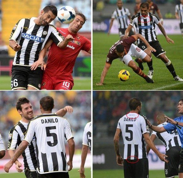 Differenze maglia Udinese DaciaSponsorDay