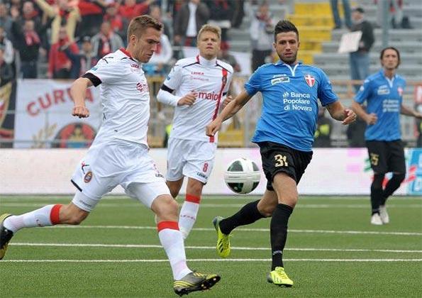 Novara-Lanciano Serie B 2013-14