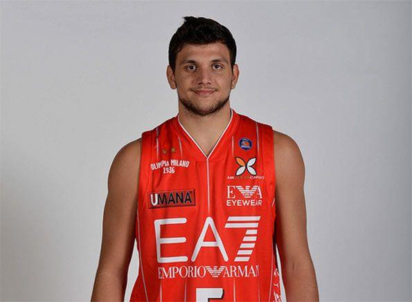 Alessandro Gentile maglia Olimpia 2013-14