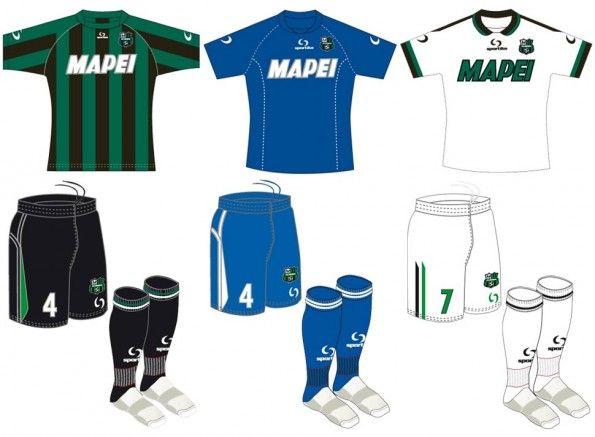 Divise ufficiali Sassuolo 2013-2014
