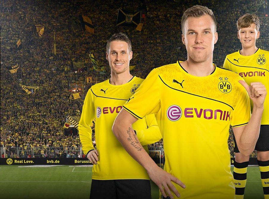 Wintertrikot Borussia Dortmund 2013 Puma