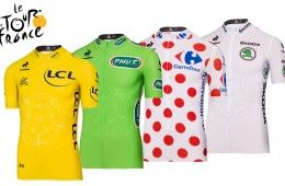 Maglie Tour de France 2014