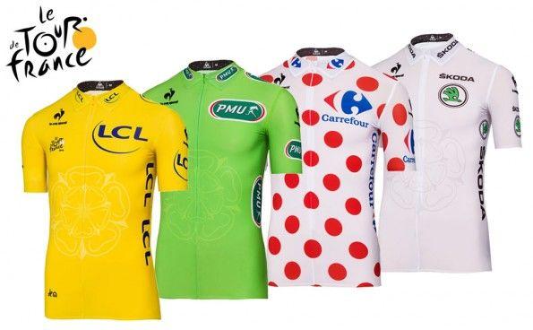 Maglie Tour de France 2014 Le Coq Sportif