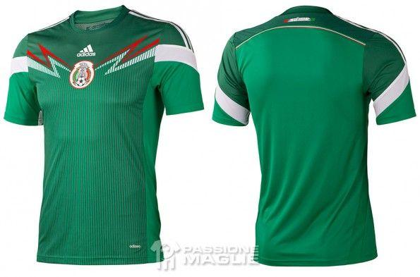 Maglia Messico 2014 adidas
