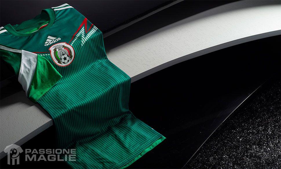 Messico kit home 2014 adidas