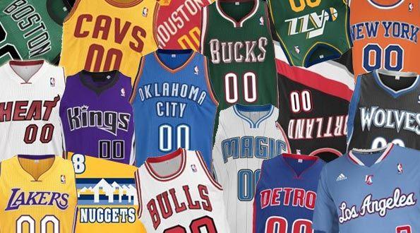 Maglie NBA 2013-2014