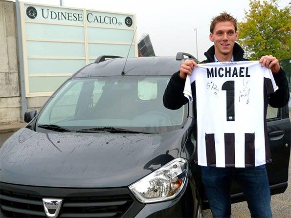 Michael Nino maglia Udinese numero 1