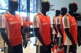 Camiseta alternativa River 2013-14