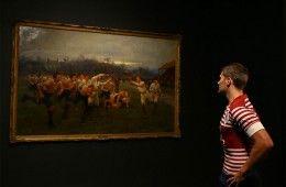 """Quadro """"The Battle of the Roses: Yorkshire v Lancashire"""""""