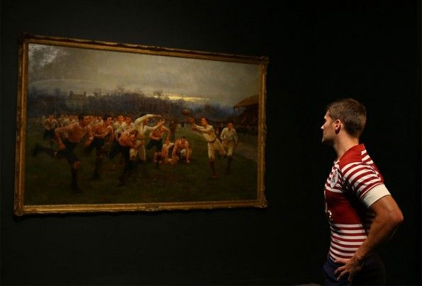 "Quadro ""The Battle of the Roses: Yorkshire v Lancashire"""