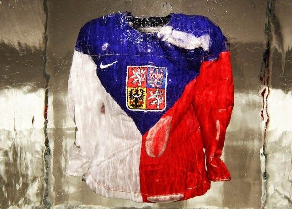 La maglia della Repubblica Ceca al Designblok