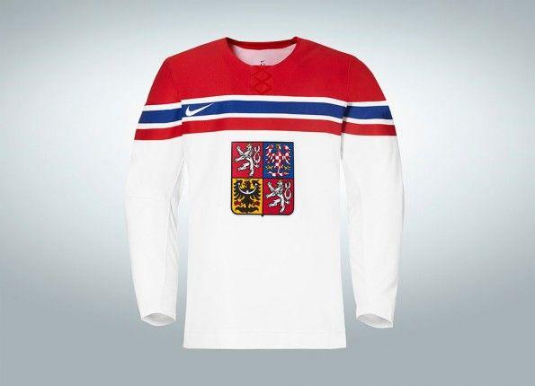 Seconda Maglia Repubblica Ceca hockey Nike 2014