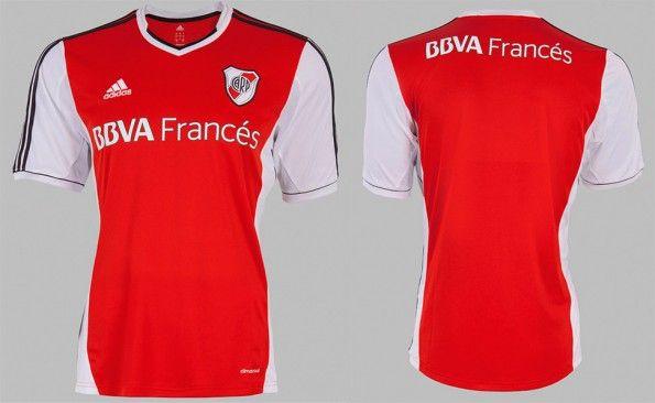 Seconda maglia River Plate 2013-2014