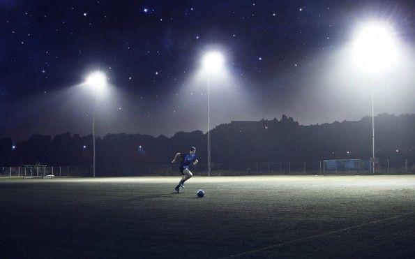 Cristiano Ronaldo scarpe Supernova in azione